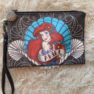 Loungefly Little mermaid Wristlet